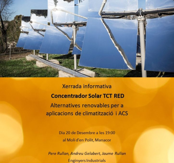 CONCENTRADOR SOLAR TCT RED