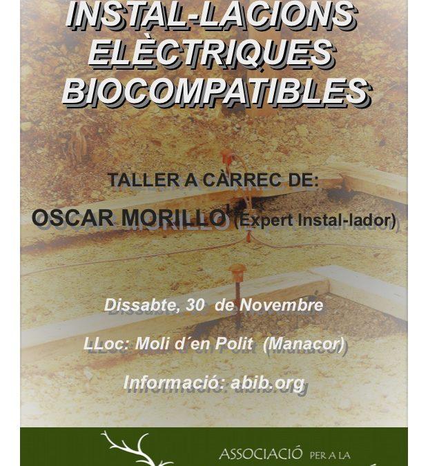 TALLER INSTAL·LACIONS ELÈCTRIQUES BIOCOMPATIBLES