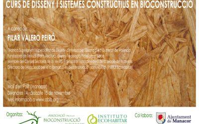 CURS DE DISSENY I SISTEMES CONSTRUCTIUS EN BIOCONSTRUCCIÓ